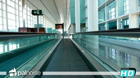 Thumbnail for Airport Travel Corridor Treadmill