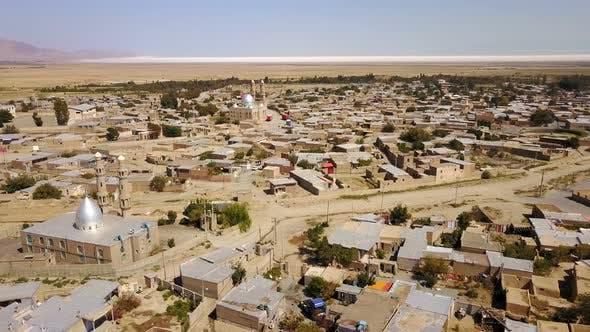 Thumbnail for Old Persian Islamic Town View from Urmia Lake, Iran