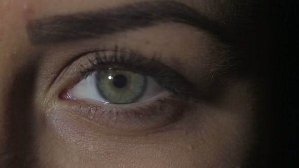 Thumbnail for Portrait Of a Beautiful Green-eyed Girl