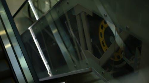 Mechanismus der Rolltreppe