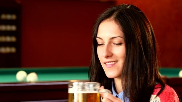 Thumbnail for Girl In Bar With Friends