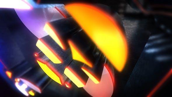 Night Glow Logo Reveal