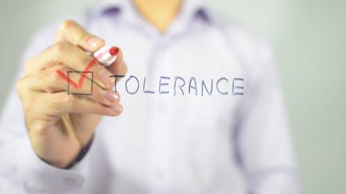 Tolerance, Tick Box Concept