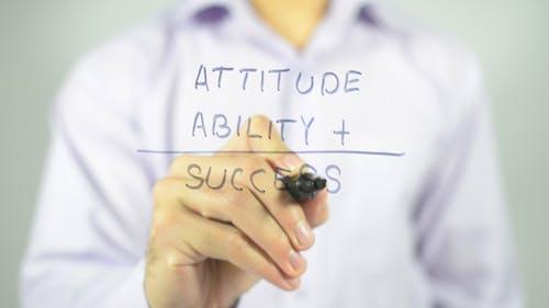 Success, Ability and Attitude