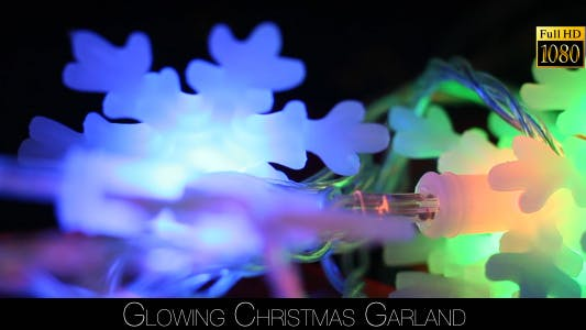Cover Image for Glowing Christmas Garland 2