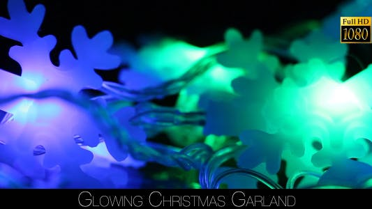 Cover Image for Glowing Christmas Garland 4