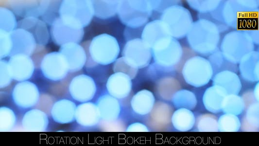 Thumbnail for Rotation Light Bokeh Background
