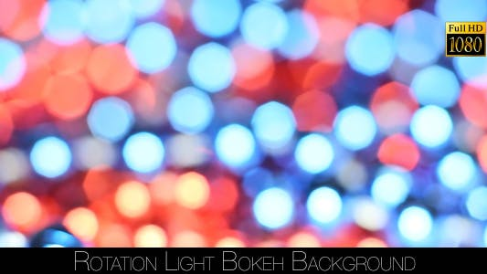 Thumbnail for Rotation Light Bokeh Background 2