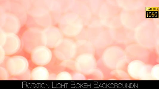 Thumbnail for Rotation Light Bokeh Background 3