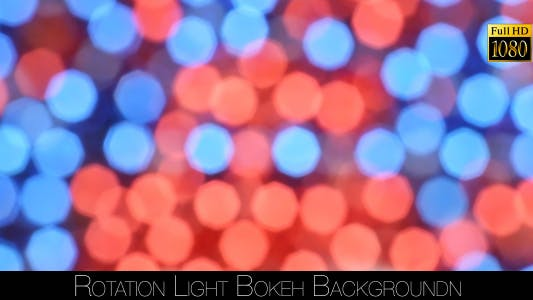 Thumbnail for Rotation Light Bokeh Background 4