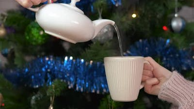 Tea Time on Christmas Eve
