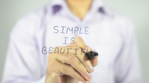Simple is Beautiful