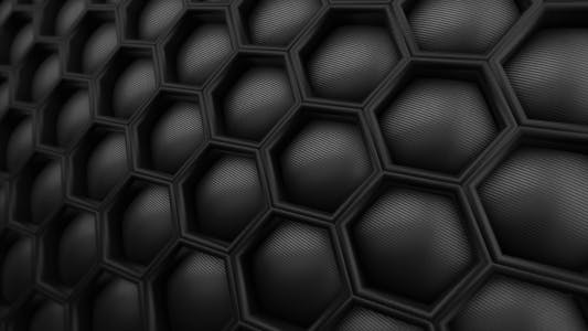 Thumbnail for Honeycomb Hi-Tech Carbon Motion Background