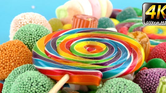 Thumbnail for Candy Sweet Jelly Lolly and Delicious Sugar Dessert 10
