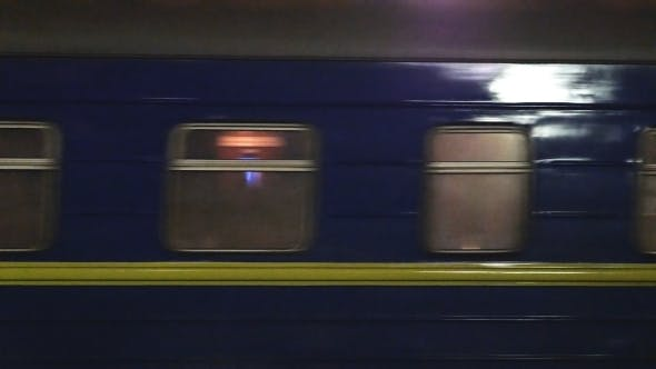 Thumbnail for Timelapse Of Moving Passenger Train