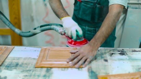 Thumbnail for Craftsman Polishing Furniture Details