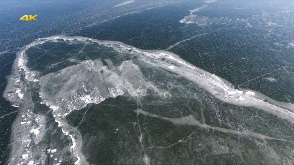 Thumbnail for Aerial Frozen Lake