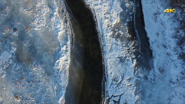 Thumbnail for Aerial Ice Creek