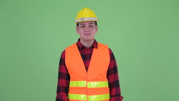 Thumbnail for Confused Young Multi Ethnic Man Construction Worker Shrugging Shoulders