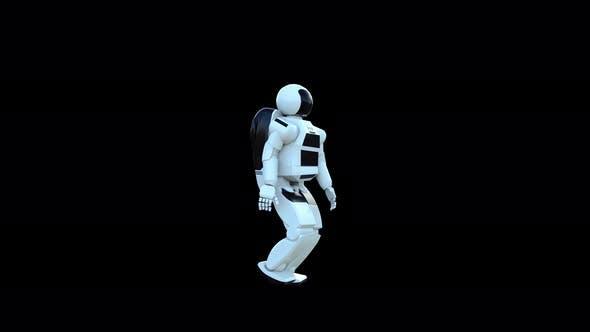 4K Asimo Humanoid Robot