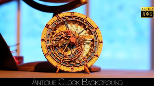 Thumbnail for Antique Clock