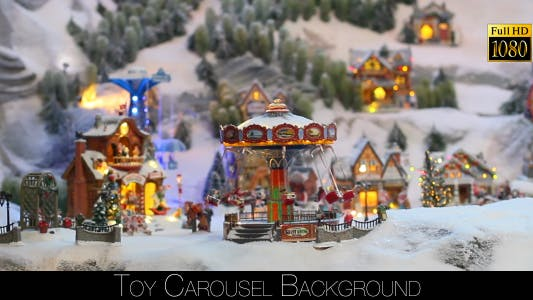 Thumbnail for Toy Carousel Background 6