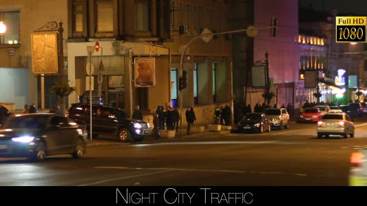 Cover Image for Night City Traffic 5