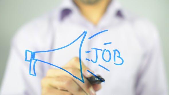 Thumbnail for New Job Announcement Concept