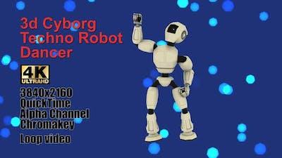 Cyborg Android Techno Robotic