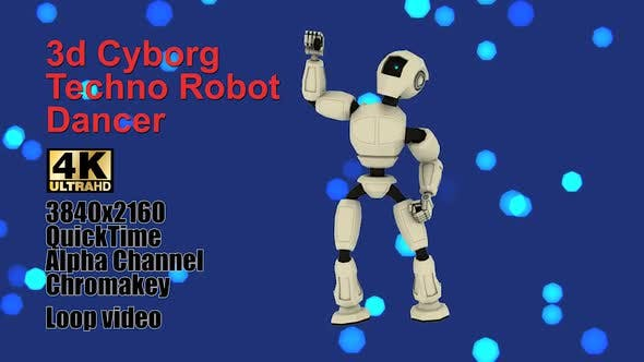 Thumbnail for Cyborg Android Techno Robotic