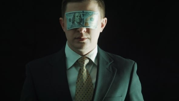 Thumbnail for The Person In a Suit Closes Eyes By The Hundred