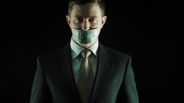 Thumbnail for The Person With Money on The Mouth