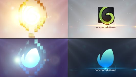 """837 """"logo animation"""" Video Templates Compatible with Adobe After Effects"""