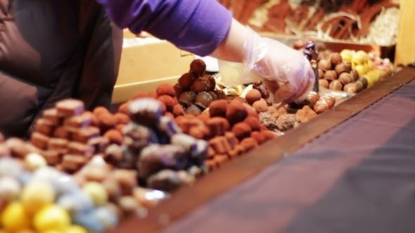 Thumbnail for Christmas Chocolates On The Counter