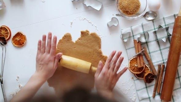 Thumbnail for Woman Hands. Traditional Homemade Christmas