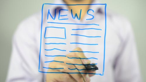 NEWS, Konzept Illustration