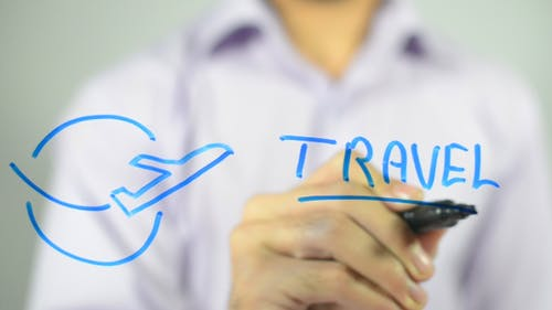 Travel, Concept Illustration