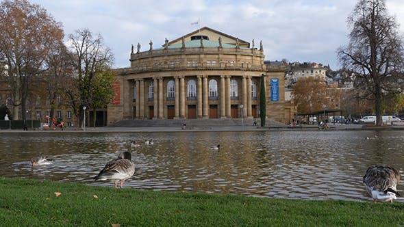 Thumbnail for Opera Building In Stuttgart