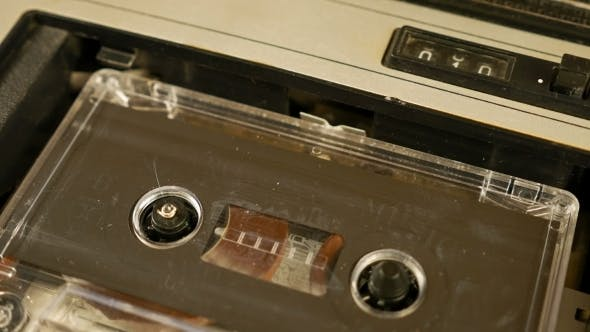 Thumbnail for Old Retro Compact Cassette Vintage Audio Recorder