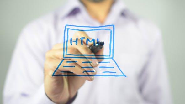 Thumbnail for HTML, Illustration