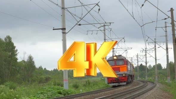 Thumbnail for Locomotive Moving In The Countryside