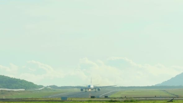 Cover Image for Airplane Taking Off From Phuket Airport