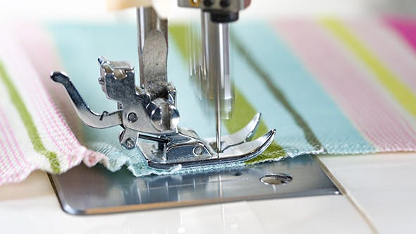 Thumbnail for Sewing Machine Showing Process