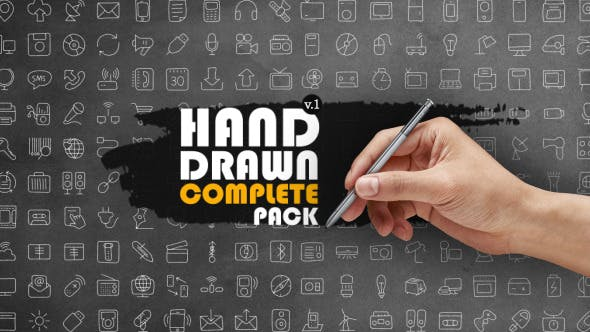 Thumbnail for Hand Drawn Complete Pack