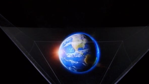 Thumbnail for Innovative Technology Hologram Of Planet Earth