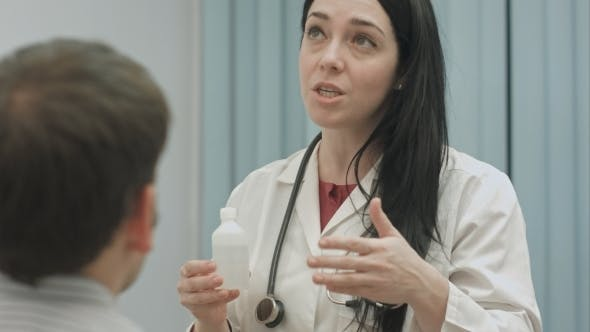 Thumbnail for Female Doctor Recommending And Talks About Effect