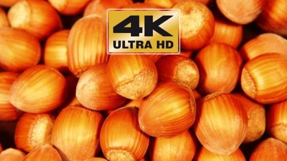 Thumbnail for Pile Of Shelled Hazelnuts Spinning Slowly
