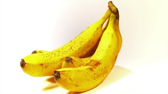 Thumbnail for Bunch Of Ripe Tasty Yellow Bananas