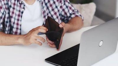 Cashless Payment Digital Banking Man Credit Card