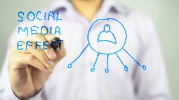 Social Media Effect, Illustration